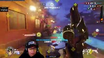 Ranked McCree Locklear & Nanak vs Stream Sniper I Overwatch