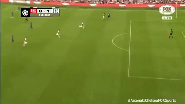 Petr Cech penalty save - Arsenal vs Chelsea