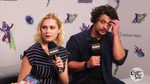 The 100: Eliza Taylor & Bob Morley On Their Reactions To Scripts | SDCC 2018 | Entertainment Weekly