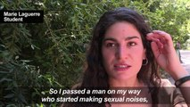 French woman speaks about alleged sexist street attack