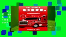 About For Books  California Commercial Drivers License Permit Test: 108 Test questions and Answers