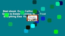 Best ebook  Every Californian s Guide to Estate Planning: Wills, Trust   Everything Else  Review