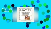 Best seller  Lawyers and Other Reptiles  E-book