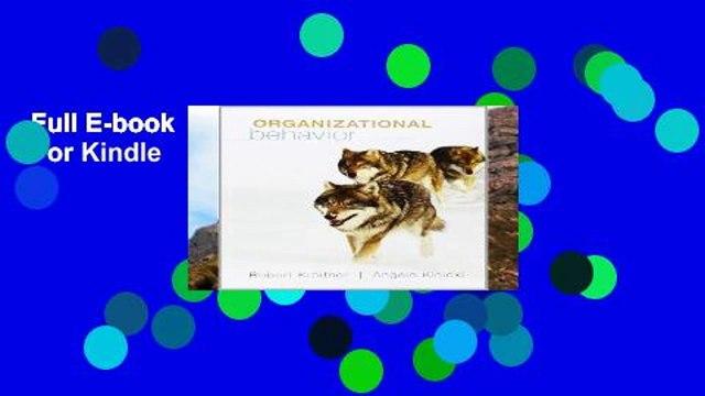 Full E-book  Organizational Behavior  For Kindle