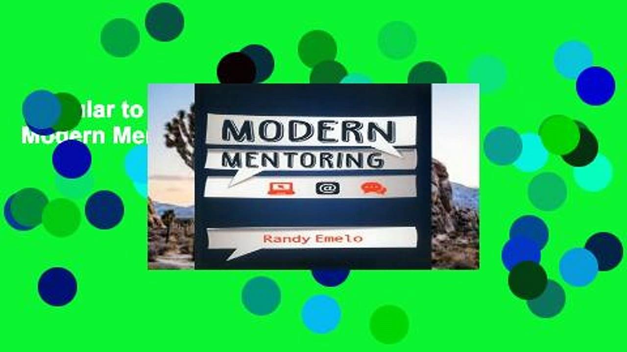 Popular to Favorit  Modern Mentoring Complete