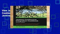 View Jenkins Continuous Integration Cookbook - Second Edition Ebook Jenkins Continuous Integration