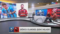 Duelo Grêmio vs Flamengo, quem é melhor jogador por jogador e técnicos, deu Gremio 7 x 5 analises 01