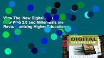View The  New Digital Shoreline: How Web 2.0 and Millennials are Revolutionizing Higher Education