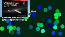 View Windows Internals, Part 1: Covering Windows Server 2008 R2 and Windows 7 (Developer Reference