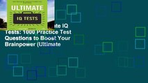 Best E-book Ultimate IQ Tests: 1000 Practice Test Questions to Boost Your Brainpower (Ultimate
