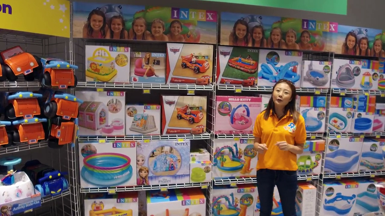 Sports and Outdoor Fun at Toys R Us Great World City!