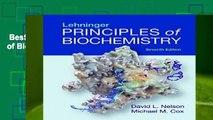 Best ebook  Lehninger Principles of Biochemistry  For Kindle