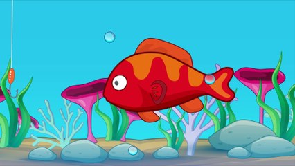 Puppy Cartoon Movies For Kids - Fishing with Daddy
