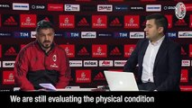 Gattuso's interview to Milan TV ahead of TIM Cup Round of 16