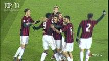 Milan Primavera, la Top 10 dei gol della stagione
