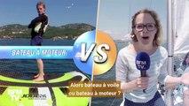 Les matchs de l'été: préférez-vous naviguer en bateau à voile ou en bateau à moteur?