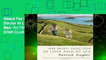 About For Books  An Irish Doctor in Love and at Sea: An Irish Country Novel (Irish Country Books)