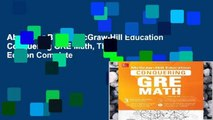 About For Books  McGraw-Hill Education Conquering GRE Math, Third Edition Complete