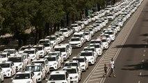 Επιστροφή στους δρόμους για τα ταξί της Ισπανίας