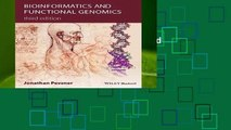 About For Books  Bioinformatics and Functional Genomics  Unlimited