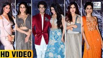 Bollywood Celebs Attend Manish Malhotra's Latest Fashion Show | Janhvi Kapoor, Salman Khan