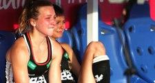Almanya Buz Hokeyi Oyuncusu Selin Oruz, Dünya Şampiyonasından Elenince Ağladı