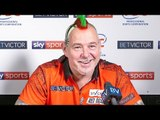 Peter Wright: 'I'm saving a 9 darter for the final !'