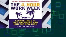 4hr Work Week Epub