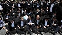 Jérusalem : manifestation de juifs ultra-orthodoxes