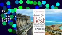D0wnload Online Becoming Your Best : The 12 Principles Of Highly Successful Leaders Unlimited