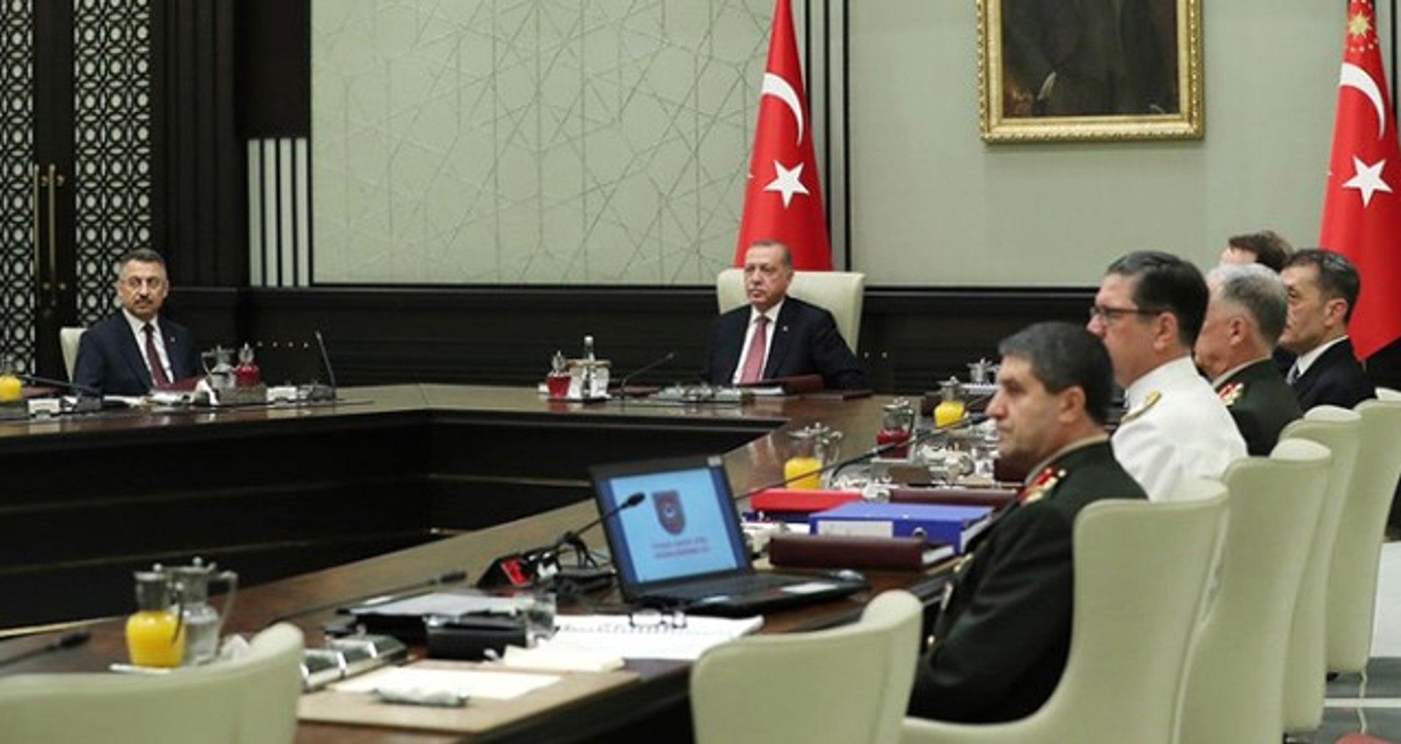 Son Dakika! Erdoğan'ın Başkanlığındaki Yeni Sistemin İlk YAŞ Toplantısı Sona Erdi! İşte Alınan