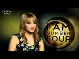 Dianna Agron chats 'I Am Number Four'