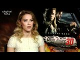 Amber Heard chats 'Drive Angry'