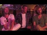 Shirtless Merlin knights Tom Hopper, Eoin Macken & Rupert Young