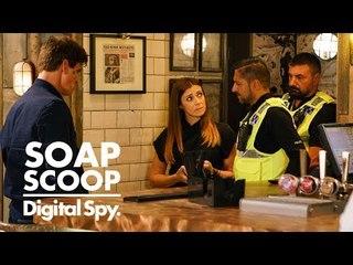 Coronation Street spoilers - Michelle & Robert targeted by a mystery enemy (Week 30)