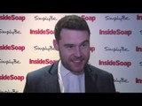 Emmerdale's Danny Miller has Aaron Dingle & Robert Sugden's reunion at Inside Soap Awards 2017