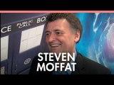 Steven Moffat on Doctor Who 50th 'Matt and David are pure magic'