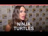 Megan Fox, Will Arnett on 'Teenage Mutant Ninja Turtles'