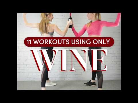 Wine Bottle Workout: At Home Workout Guide
