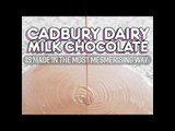 How Cadbury Dairy Milk Chocolate Is Made: Cadbury Factory Tour