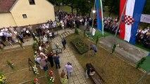 Gedenkfeier für die während des Zweiten Weltkriegs getöteten Roma