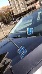 Altercado entre un taxista y un conductor VTC en Barcelona