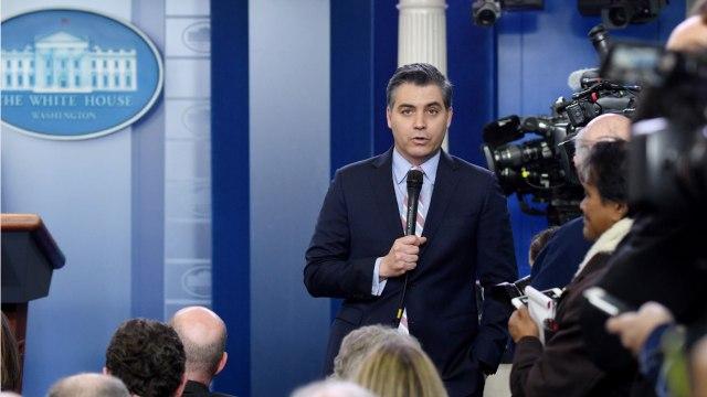 CNN's Jim Acosta Battles With Sarah Huckabee Sanders In White House Press Briefing