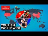 The changing face of tourism   The Economist