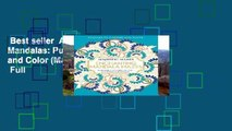 Best seller  Amazing Mazes: Mandalas: Puzzles to Solve and Color (Majestic Mazes)  Full