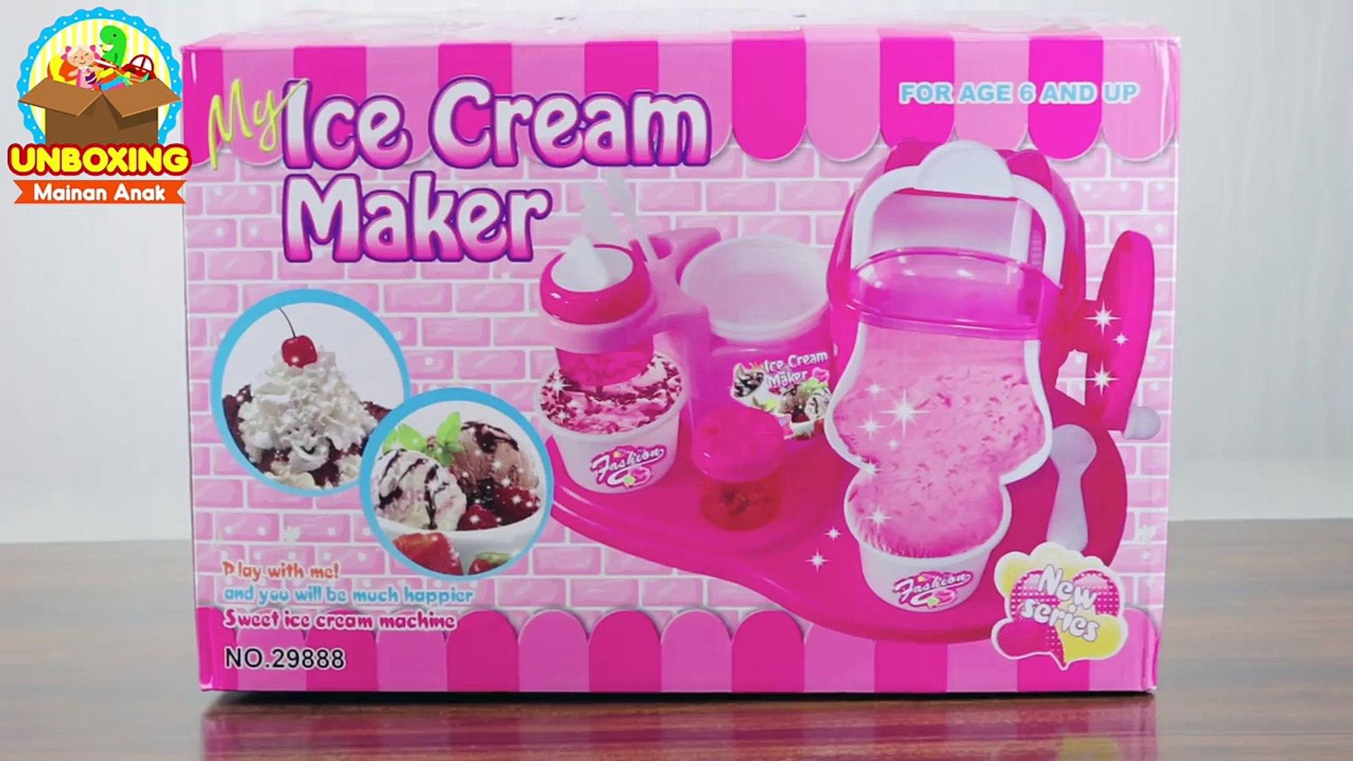 Mainan Anak My Ice Cream Maker Make Your Own Ice Cream Video Dailymotion