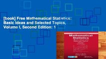 [book] Free Mathematical Statistics: Basic Ideas and Selected Topics, Volume I, Second Edition: 1
