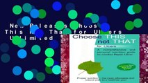 New Releases Choose This not That for Ulcers  Unlimited