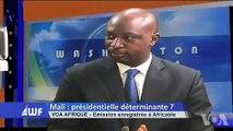 """""""il n'y a pas eu de vote sanction contre #iBK, il y a eu un #Vote d'espoir pour IBK"""" dixit Mahamadou CAMARA"""