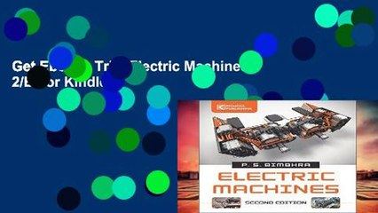 Get s  Electric Machines 2 E  Full Movies